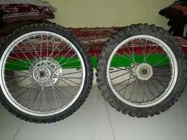 Wheelset ori klx bf