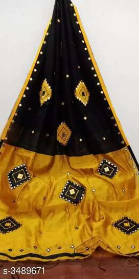 Grand embroidery silk sarees