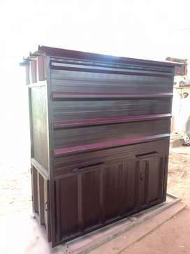 Booth container / gerobak kontainer murah promo