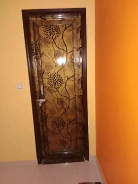 Bathroom door Ghar tak with fitting