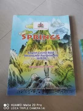 English 2nd PU NCRT Text Book