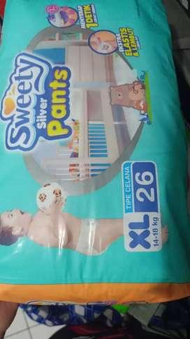 Diapers bayi & anak Sweety Silver Pants