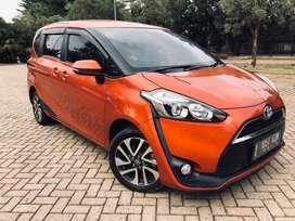 Sienta V CVT Automatic 2017 Orange Istimewa Harga Cash 176juta