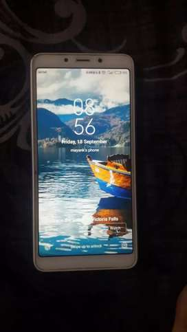 Redmi 6a 2gb ram 32gb rom sea blue colour. Without charger