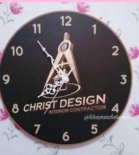 Harga jam dinding custom Terbaik - Souvenir & Pesta Januari