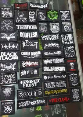 Woven Patch - Emblem Rajut - Badge Logo Band Metal Punk Hardcore
