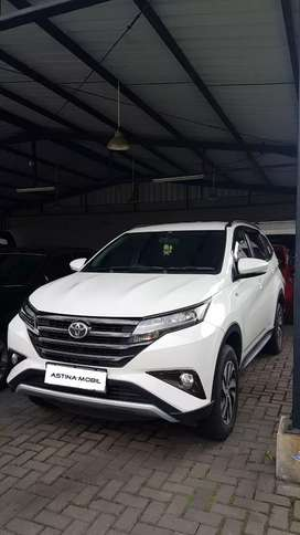 Toyota Rush 1.5 G AT Matic 2019 Putih KM 23.000 ASTINA MOBIL