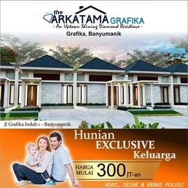 The Arkatama Grafika Hunian Terngehitz di Banyumanik