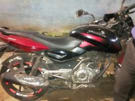3.5 year bike and good condition.