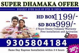 TATA SKY Lowest price in India Guaranteed