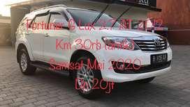 dp20jt Fortuner G Lux AT 2012 Plat B TT CRV/Innova/Pajero 2011/2013