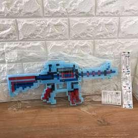 Mainan Anak Pistol Mine | Pistol Minecraft | Pistol Pistolan Anak 967