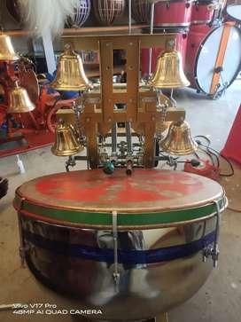 Automatic Arati Machine Dram bell
