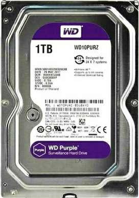 WD Purple New HDD 1TB