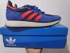 Adidas Oroginal Forest Grove Powder Blue Red