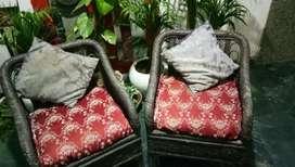 Two Cane sofa for garden