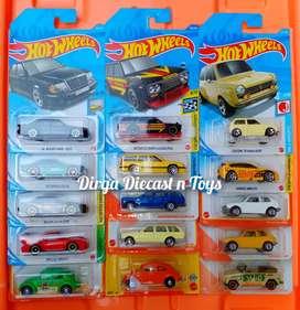 Hotwheels / Hot Wheels / Matchbox Paket Super