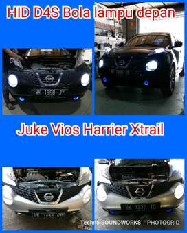 D4S Hid 4300 Kuning vios juke Harrier Xtrail bola lampu for windows