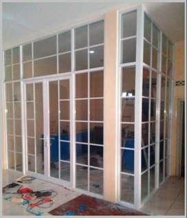 jendela/pintu kaca kusen alumunium harga murah Berkualitas