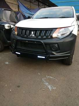 Tanduk Overland All New Triton With Lampu DRL