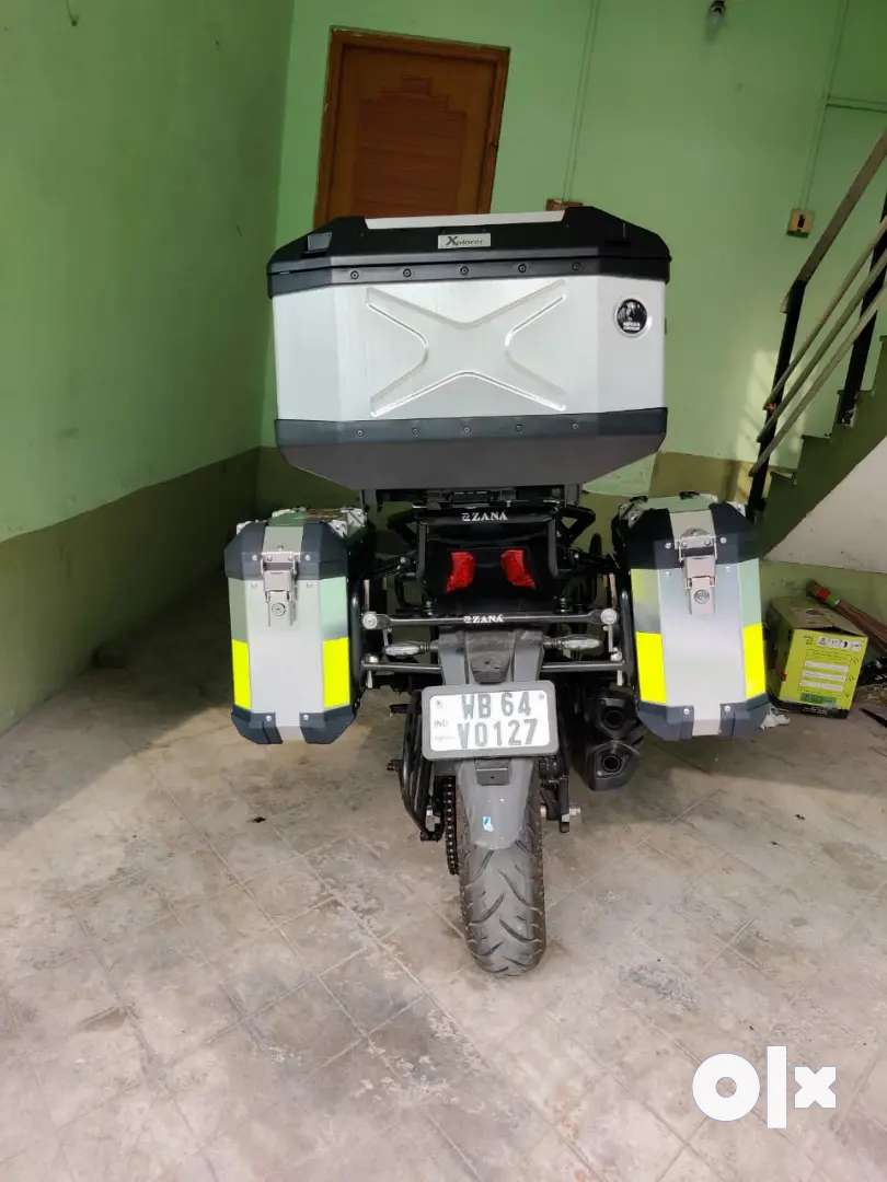 PANNIERS AND TOP BOX FOR ALL BIKES
