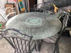 Out door dining set