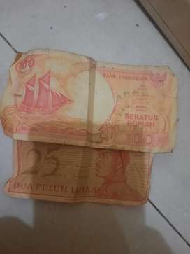 Jual uang kertas 100 rupiah thn 1992