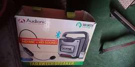 Taraweeh speaker for sale with all accessories/#car #bike # exchange