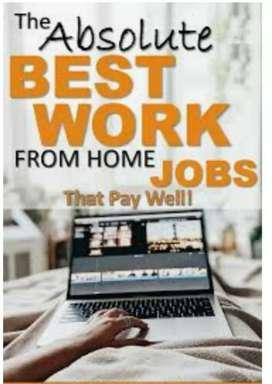 Work writing or typing