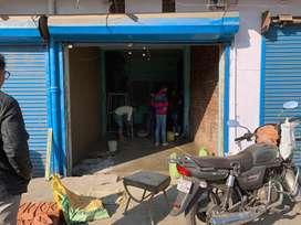 Well maintain shop for rent inGovind Nagar on Nandlal to CTI main road