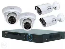 Paket lengkap kamera cctv plus pemasangan
