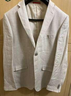 Linen suit for men