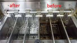 Service cleaning kompor stove grill gridle fryer oven murah