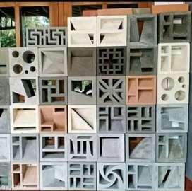 Roster beton minimalis