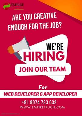 Vacancy open for Php Developers