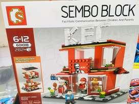 Mainan anak sembo block baru