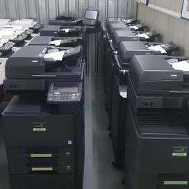 Dry electrostatic transfer system Photocopier with Printer Scanner