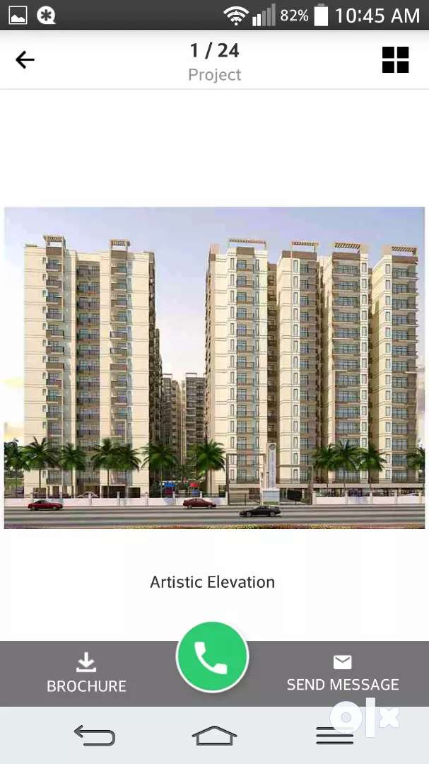 3 bhk flat sale in raj nagar extension 0