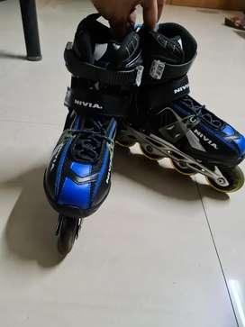 Inline Skates Nivia Size M 36-39 1 year Old, Well maintained
