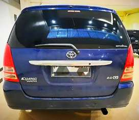 Mobil Toyota Innova G Bensin Manual M/T 2005 KM 180rb Biru Plat N