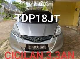 Honda New Jazz S facelift 1.5 AT 2012 tangan pertama tdp&angsran murah