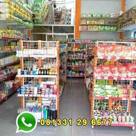 Rak Supermarket | Rak Minimarket | Keranjang Mirani
