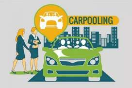 Pool Car Service Monthly Noida to Gurgaon Route