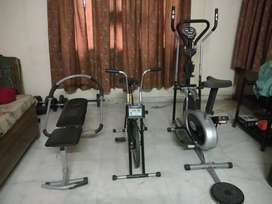 Fitness Equipments for Urgent Sale!!