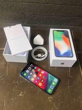 iPhone X Silver 256gb mulussss ZP