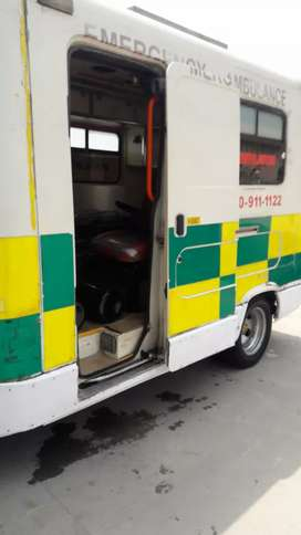 Ambulance ford transit