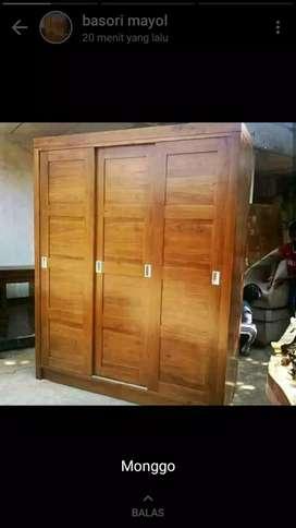 Almari sleding pintu 3