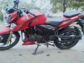 A well condition bike with recent servicing
