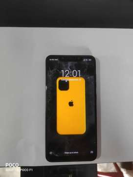Poco f1 mobile.only mobile no headfone,no charger.
