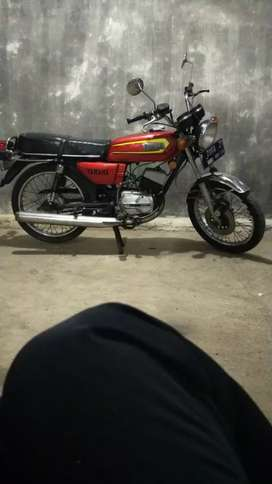 Sepeda motor RX 100 yamaha RX king klasik